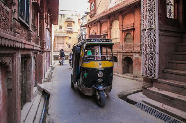 auto rickshaw photo bikaner rajasthan