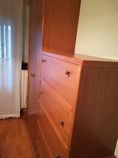 Mueble de dormitorio a medida en Zaragoza
