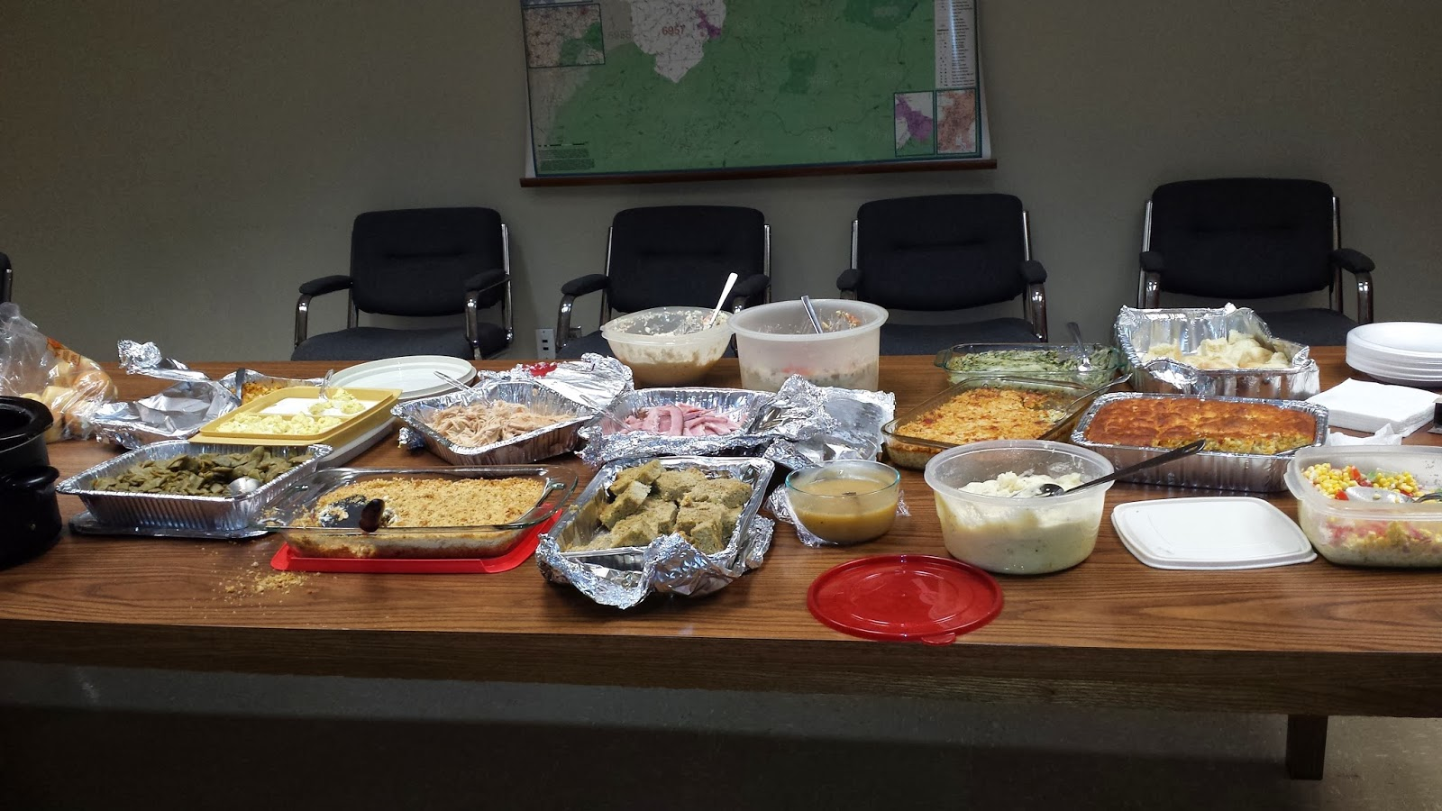 Yes. My name is m a r n a: Thanksgiving Potluck dinner at work |Thanksgiving Food For Work
