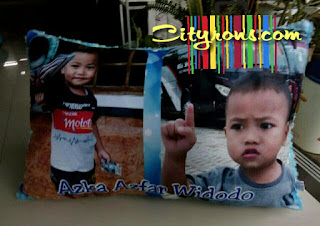 bantal photo printing