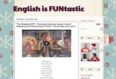 Vídeos diarios navideños - English is Funtastic