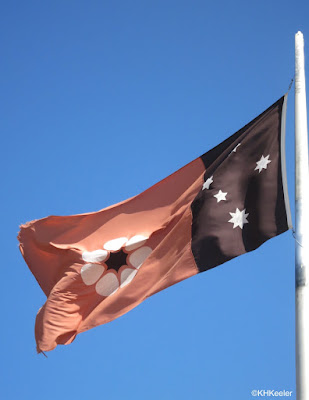 flag, Northern Territory, Australia
