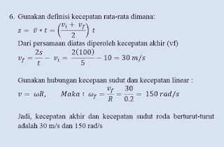 Kumpulan Soal dan Pembahasan Soal Ujian Nasional (UN) Fisika SMA Part 1 - Mekanika (Gerak Lurus dan Gerak Melingkar)