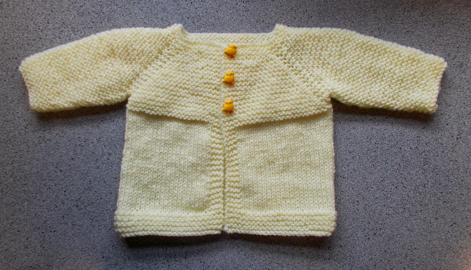 Marianna\'s Lazy Daisy Days: Babbity Baby Jacket