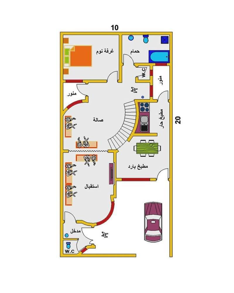 ايهاب القزاز نصائح تصميم خرائط بناء بيوت عراقية