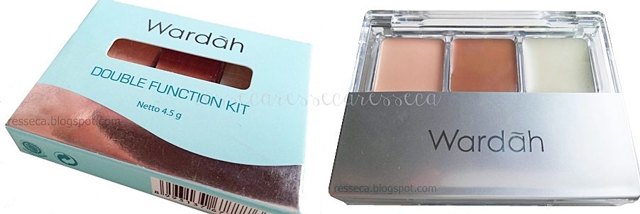Review : Wardah Double Function Kit | resseca.blogspot.com