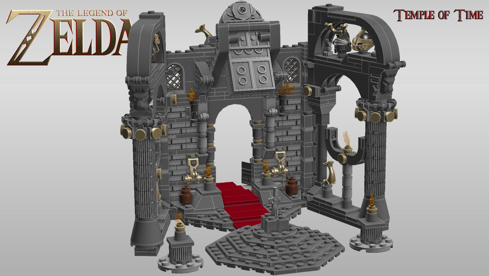 Continuum The Legend Of Zelda Lego Project
