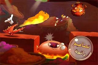 تحميل لعبة rayman fiesta run للاندرويد مهكرة