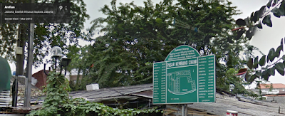 plang nama pasar kembang cikini
