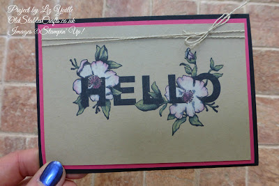 Floral Sentiments Hello Card