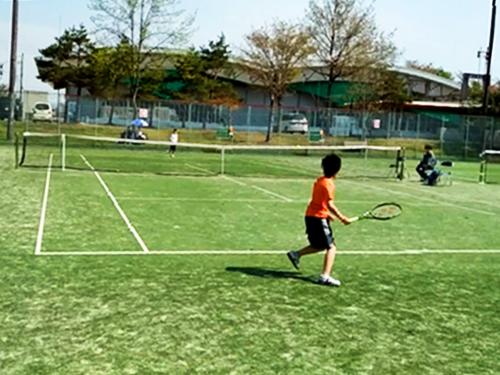 朝倉丈 テニス 山形市 ジュニア 小学生
