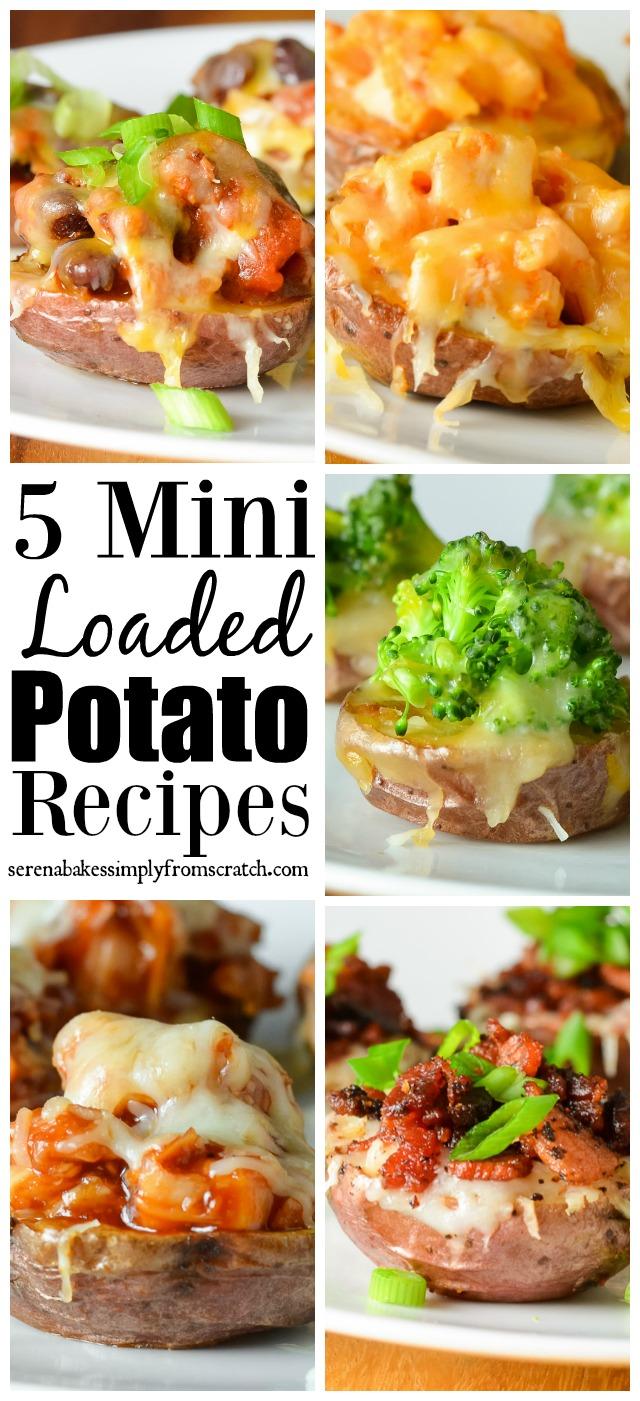 5 Loaded Mini Potato Recipes