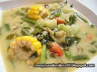 Resep Sayur Lodeh Bumbu Sederhana Masakan Sunda