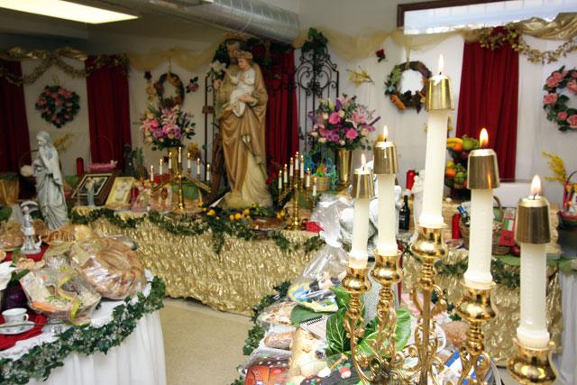 2011 St Joseph39s Day Table The Sestaks