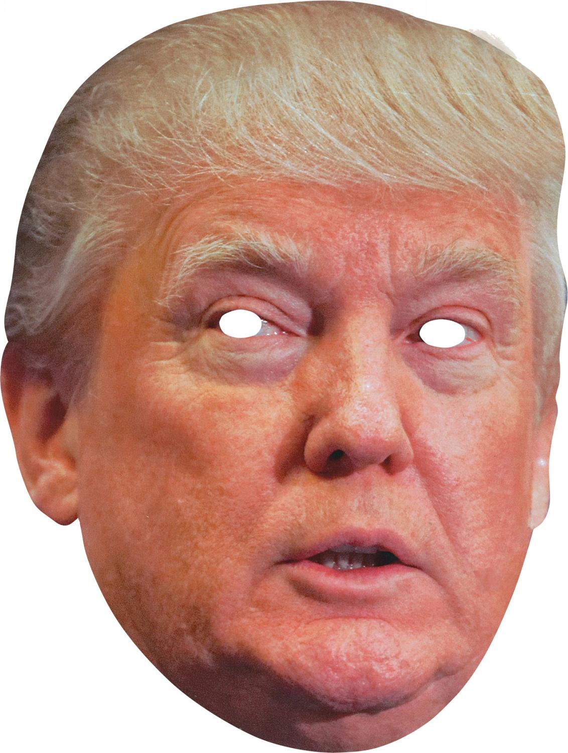 picture about Donald Trump Mask Printable known as Fantastic Donald Trump Absolutely free Printable Masks. - Oh My Fiesta! in just