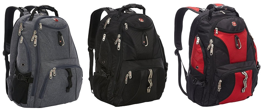 SwissGear Travel Gear ScanSmart Backpack only $50 (reg $130)
