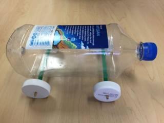 Cara Membuat Mobil Listrik dari Botol Plastik Mudah dan Unik