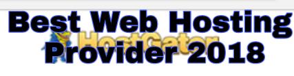 Web hosting Companies 2018