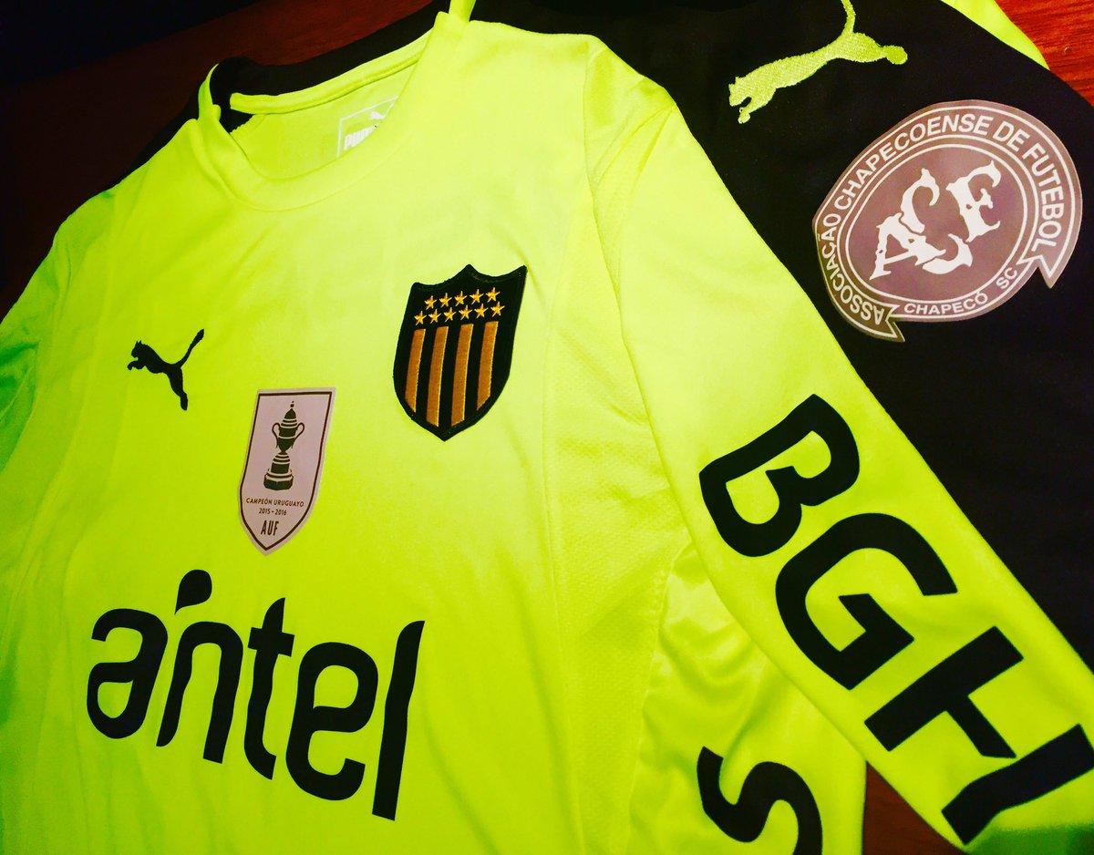Peñarol usará camisa verde em homenagem a Chapecoense - Show de Camisas 07ef15de7cbd2