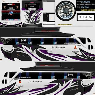 Download Livery Bus Po Haryanto Ungu
