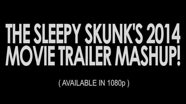 The Sleepy Skunk YouTube movie trailers mashup 2014