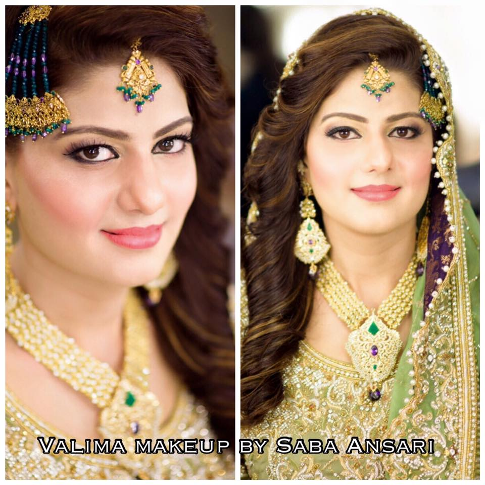 Dulhan Makeup by Saba Ansari