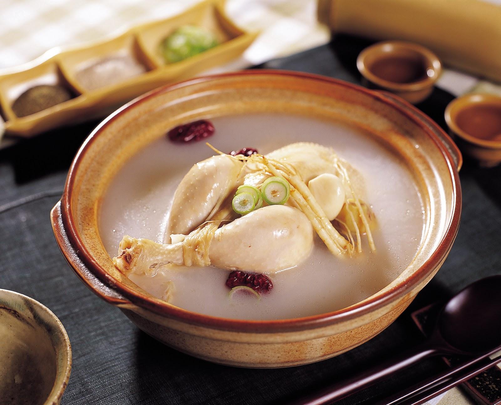 Cardápios Coreanos Sopas