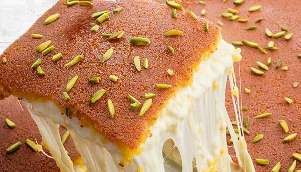 طريقة عمل الكنافة النابلسية الناعمة بالجبنة