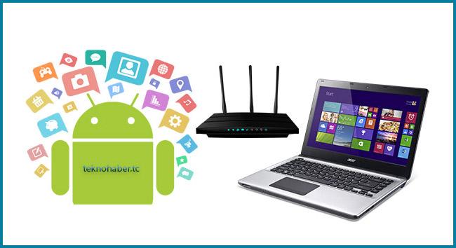 Android Cihazımızın Dosyalarına Bilgisayardan Ulaşalım