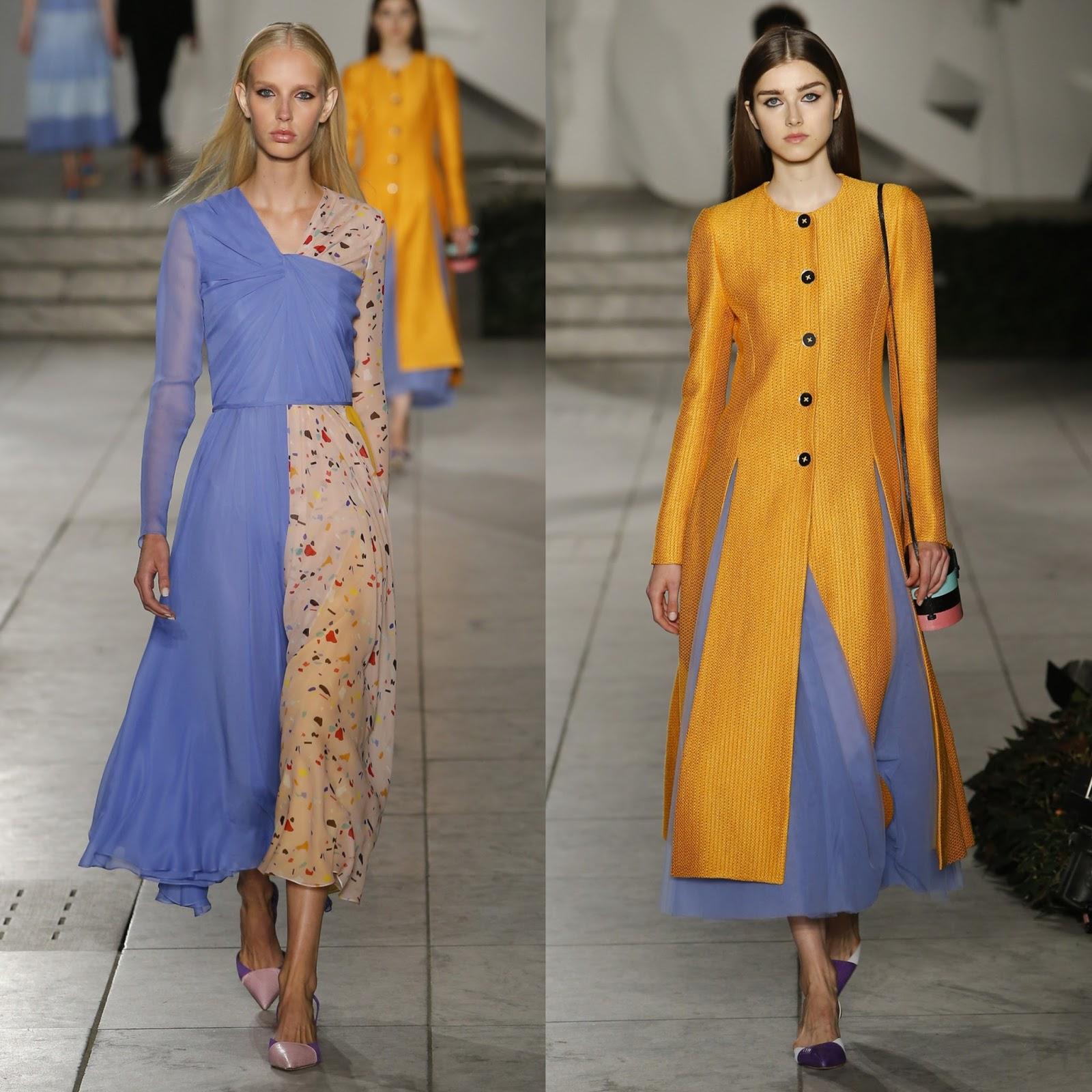 RUNWAY REPORT.....New York Fashion Week: Carolina Herrera ...