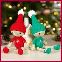 Elfos navideños