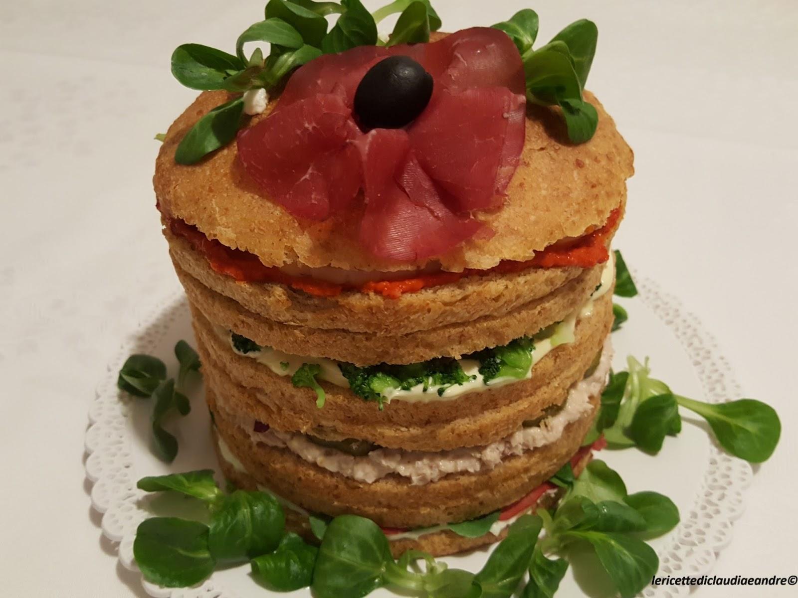 Favorito Le ricette di Claudia & Andre : Panettone gastronomico  XS62