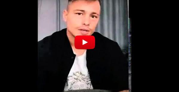 Futbolita argentino se disculpa y dice que no quiere el pipi de Maluma porque ya no es gay