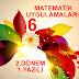 6.sınıf matematik uygulamaları 2.dönem 1.yazılı soruları
