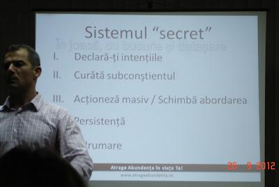 "Sistemul ""secret"""