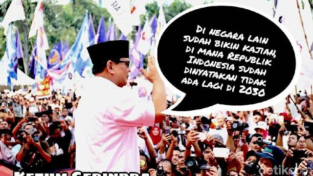 Said Aqil Beri Pesan Kepada Prabowo Subianto Agar Agama Tidak Di Jadikan Untuk Politik