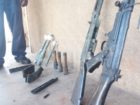 Pictures: #Uganda authorities recover arms in a monastery - #AprilRevolution