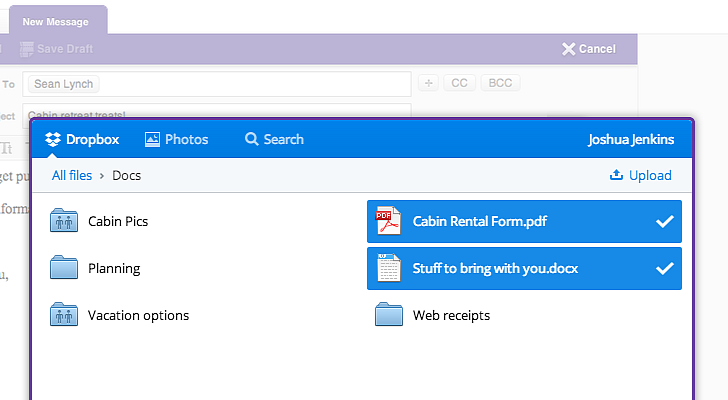 Dropbox Is Now Built into Yahoo Mail - Cyber Kendra