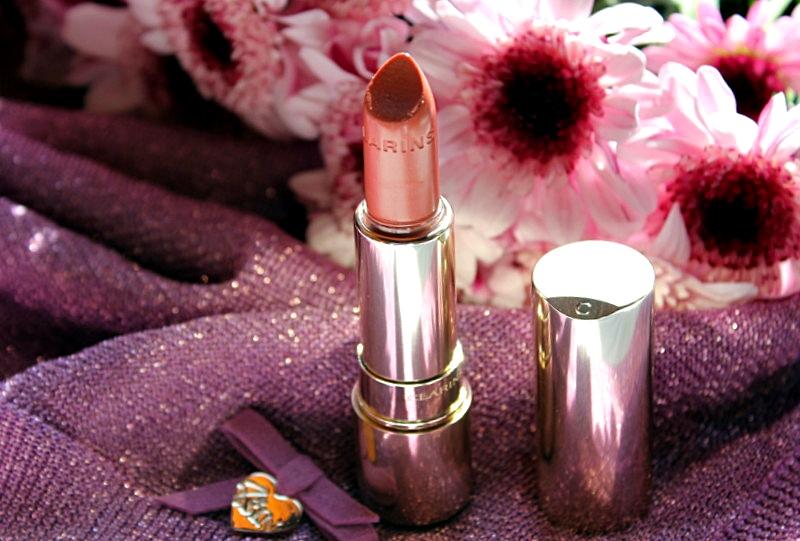 Весенняя новинка от CLARINS: Губная помада Clarins Joli Rouge Brillant в оттенке #31 tender nude / обзор, отзывы