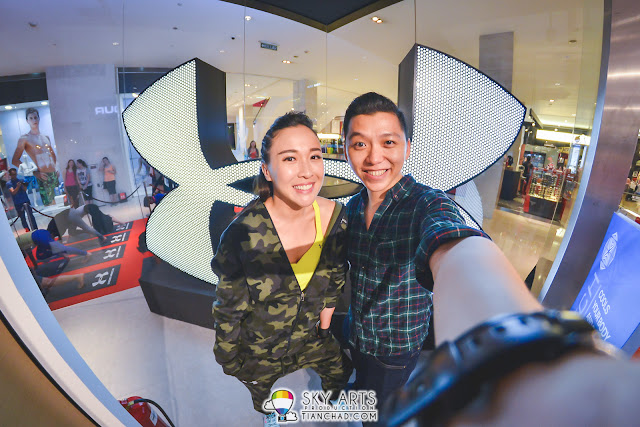 #TCSelfie with Debbie Goh at Under Armour Event