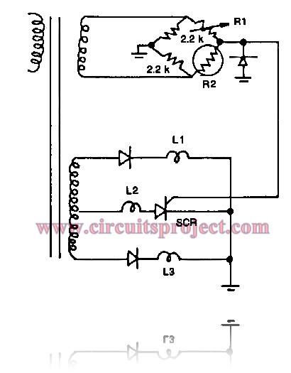 Build a Hi-low Temperature Sensor Circuit Diagram