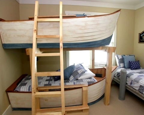 boat bunk beds for kids