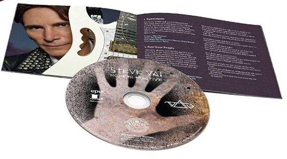 STEVE VAI - Modern Primitive (2016) disc