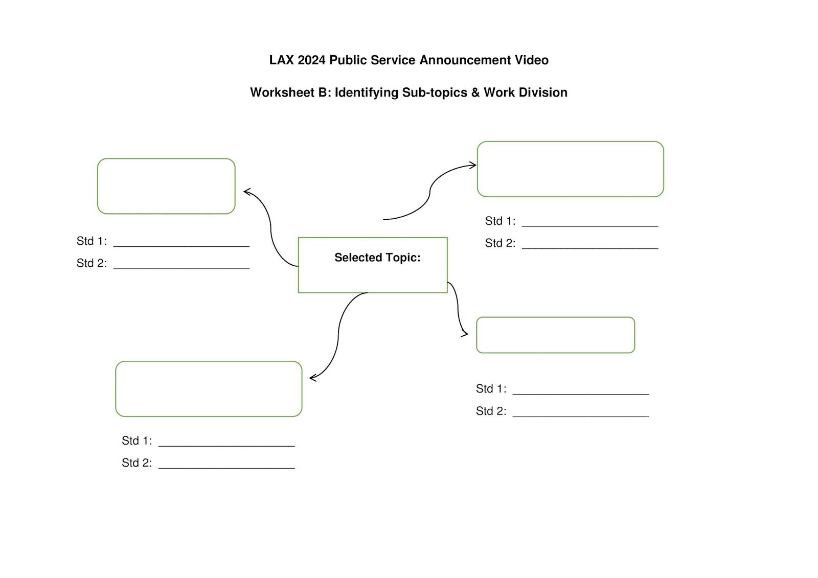 lax 2024 public service announcements psa worksheet b