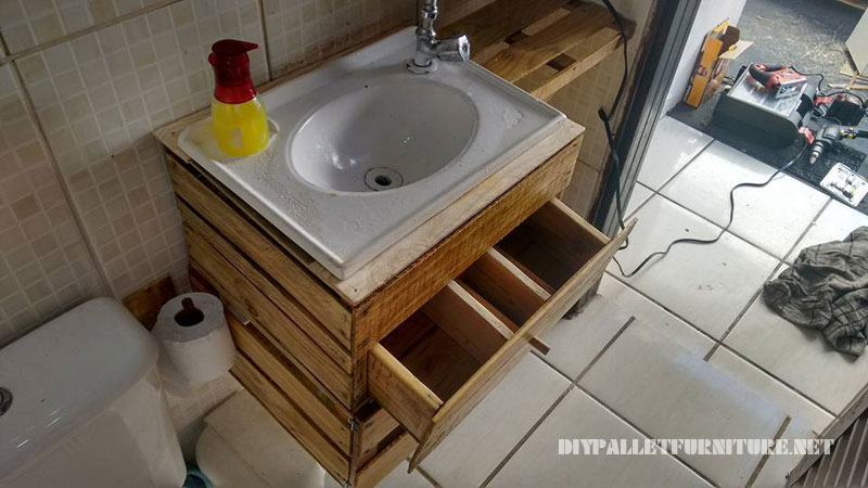 Cajas - Como hacer un mueble para el lavabo ...