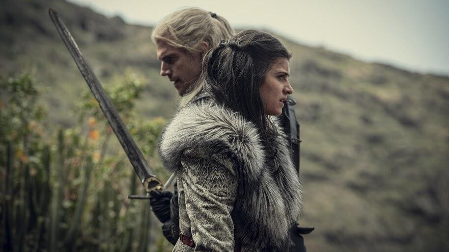 Geralt, Yennefer, The Witcher, Netflix, 8K, #7.1001
