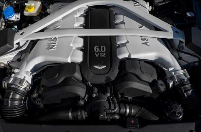 2017 Aston Martin Vanquish Zagato Volante Engine