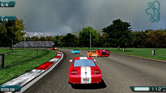 Speed Rally Pro racing