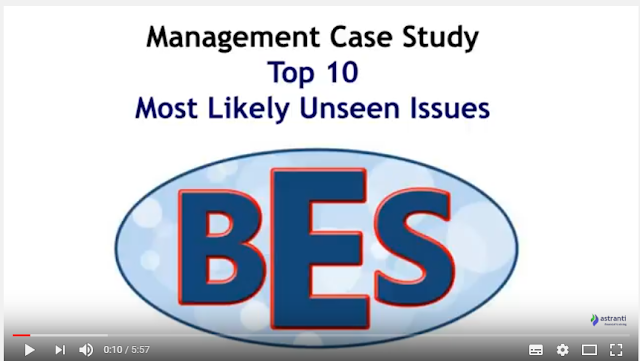 Top 10 Issues for MCS May 2017 - CIMA Management Case Study - BES