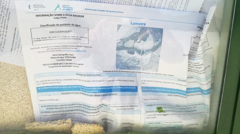 Info sobre a zona fluvial